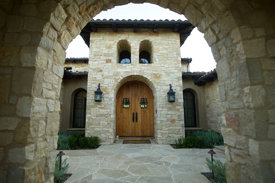 "3-10"" Rubble Tuscan Blend (AAA Natural Stone Thin Veneer)"